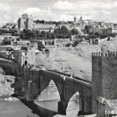 Cartes Postales: == P1580 - POSTAL - TOLEDO - PUENTE DE SAN MARTIN Y VISTA PARCIAL. Lote 194513140