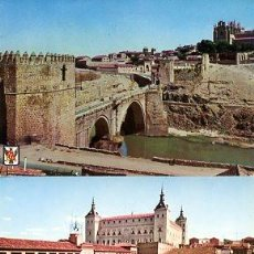 Postales: COLECCION POSTALES HISTORICAS-TURISTICAS DE TOLEDO (S.XX, AÑOS 60 A 70). Lote 194641228