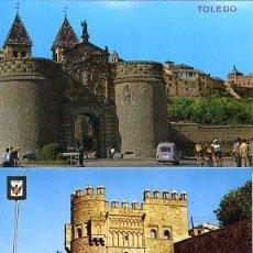 Postales: COLECCION POSTALES HISTORICAS-TURISTICAS PUENTES Y PUERTAS DE TOLEDO (S.XX, AÑOS 60 A 70). Lote 194641927