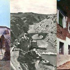 Postales: COLECCION POSTALES HISTORICAS-TURISTICAS CASTILLOS Y PUEBLOS DE TOLEDO (S.XX, AÑOS 60 A 70). Lote 194642217