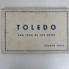 Postales: ÁLBUM POSTAL TOLEDO, SAN JUAN DE LOS REYES - 10 POSTALES - HELIOTIPIA ARTÍSTICA ESPAÑOLA, MADRID. Lote 194766493