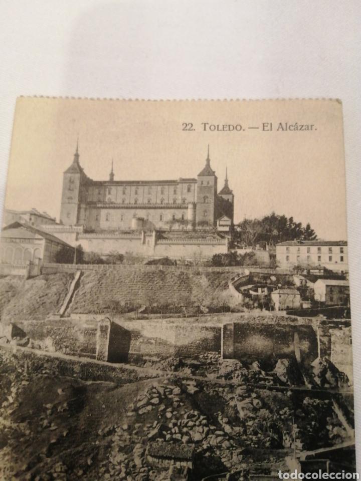 Postales: 22. TOLEDO. EL ALCAZAR. POSTAL ANTIGUA. CIRCA 1920. - Foto 2 - 194871116