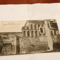 Postales: N° 88. TOLEDO. PALACIO DON PEDRO EL CRUEL. CIRCA 1911. TARJETA POSTAL. HELIOTIPIA ESPAÑOLA.. Lote 194994393