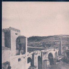 Postales: POSTAL TOLEDO - PUENTE DE SAN MARTIN - HAUSER Y MENET. Lote 195319261