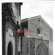 Postales: CHINCHILLA DE MONTE ARAGON Nº 12 IGLESIA S. MARIA DEL SALVADOR .- EDICIONES PARIS . Lote 195333586