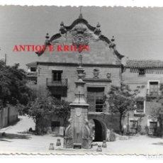 Postales: CHINCHILLA DE MONTE ARAGON .- AYUNTAMIENTO .- POSTAL FOTOGRAFICA SIN EDITOR. Lote 195334933