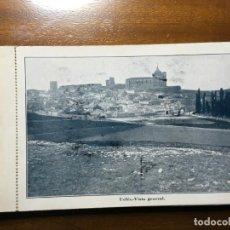 Postales: CUENCA ,LIBRETO CON 10 POSTALES MONASTERIO DE UCLÉS. FALTAN LAS TAPAS. Lote 195498062