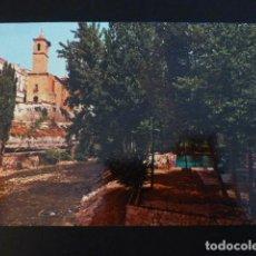 Postales: ALCALA DEL JUCAR ALBACETE VISTA PARCIAL Y PISCINA. Lote 196035056