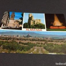 Cartes Postales: POSTAL DE ALBACETE- ALMANSA -BONITAS VISTAS - LA DE LA FOTO VER TODAS MIS POSTALES. Lote 196143437
