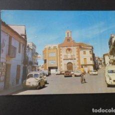 Postales: ALMADEN CIUDAD REAL PLAZA GENERALISIMO. Lote 196646967