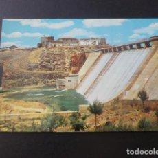 Postales: TOMELLOSO CIUDAD REAL PANTANO DE PEÑARROYA PRESA. Lote 196661537