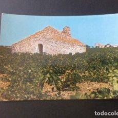 Postales: TOMELLOSO CIUDAD REAL BOMBO TIPICA CONSTRUCCIÓN DE PIEDRA. Lote 196661586