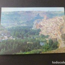 Postales: ALCALA DEL JUCAR ALBACETE VISTA PANORAMICA. Lote 196661636