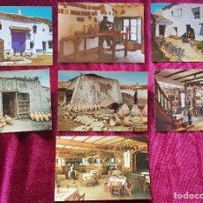 Cartoline: VENTA DE DON QUIJOTE Y MESÓN DEL QUIJOTE, 7 POSTALES DIFERENTES, SIN CIRCULAR. Lote 197286495