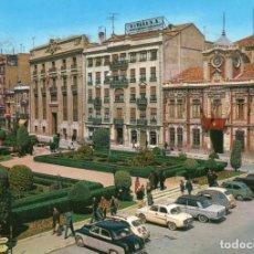 Postales: ALBACETE PLAZA DEL CAUDILLO. Lote 197333171
