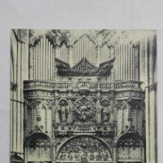 Postales: POSTAL TOLEDO CATEDRAL, INTERIOR DE LA PUERTA DE LOS LEONES, AÑO 1931, CIRCULADA. Lote 197925172