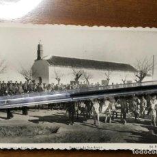 Cartes Postales: ALBACETE,POSTAL DE VILLARROBLEDO, EDIC. PAPELERÍA CERVANTES.ROMERÍA DE SAN ANTÓN.VILR. Lote 198059468