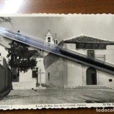 Cartes Postales: ALBACETE,POSTAL DE VILLARROBLEDO, EDIC. PAPELERÍA CERVANTES.ERMINA DE NTRA. SRA. DE LA CARIDAD.VILR. Lote 198059668