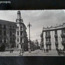 Postales: ALBACETE PLAZA GABRIEL LODARES Y CALLE TESIFONTE GALLEGO GARCÍA GARRABELLA Y CÍA ZARAGOZA . Lote 198122078