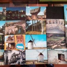 Postales: CUENCA, SAELICES, LOTE DE 18. Lote 199618418