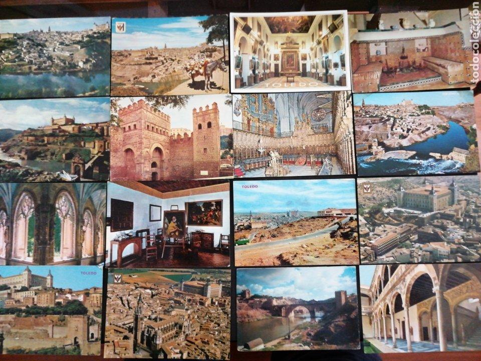 Postales: TOLEDO, LOTE DE 61 POSTALES C Y S/C - Foto 2 - 199624175