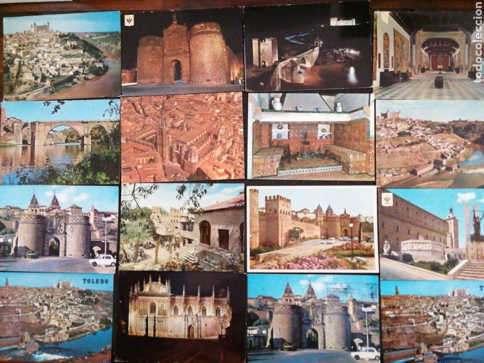 TOLEDO, LOTE DE 61 POSTALES C Y S/C (Postales - España - Castilla la Mancha Moderna (desde 1940))