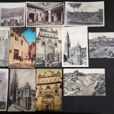Postales: TOLEDO, LOTE DE 12 POSTALES. Lote 199627236