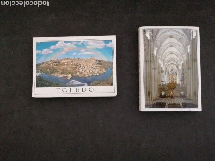 TOLEDO, 2 LIBRITOS POSTALES, NUEVOS (Postales - España - Castilla la Mancha Moderna (desde 1940))