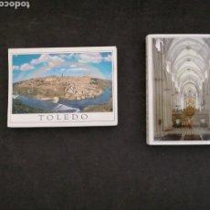 Postales: TOLEDO, 2 LIBRITOS POSTALES, NUEVOS. Lote 199631996