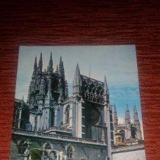 Postales: POSTAL DE LA CATEDRAL DE BURGOS DE EDICIONES VISTABELLA. Lote 202033090