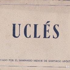 Postales: UCLES (CUENCA) - TACO DE 20 POSTALES - EDITADO POR EL SEMINARIO MENOR DE SANTIAGO APOSTOL. Lote 202953762