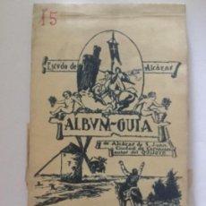Postales: ALBUM-GUIA DE ALCAZAR DE S. JUAN - CIUDAD DE CERVANTES AUTOR DEL QUIJOTE - 20 POSTALES SIN CIRCULAR. Lote 203804203