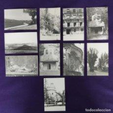 Postales: 10 POSTALES FOTOGRAFICAS DE LA PROVINCIA DE GUADALAJARA. ORIGINALES. AÑOS 60.. Lote 204003095
