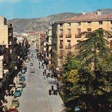Postales: CUENCA AVENIDA JOSE ANTONIO. ED.SICILIA Nº 16. AÑO 1966. SIN CIRCULAR. Lote 204314716