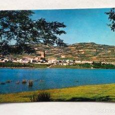 Cartoline: SACEDON (GUADALAJARA) POSTAL VISTA PARCIAL Y EMBALSE ENTREPEÑAS. EDICIONES FITER (H.1970?). Lote 204632818