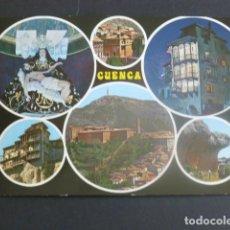 Postales: CUENCA VARIAS VISTAS. Lote 204667007