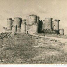 Postales: BELMONTE-CASTILLO VISTA GENERAL-FOTOGRÁFICA- AÑO 1949 MUY RARA. Lote 205206266