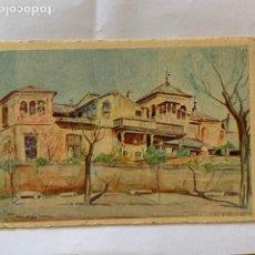 Postales: POSTAL TOLEDO CASA DEL GRECO, ED. LABORDE LABAYEN, DIBUJO LANDI SORONDO. ESCRITA. Lote 205378598