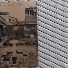 Postales: CASA DEL GRECO,JARDIN. Lote 205875291