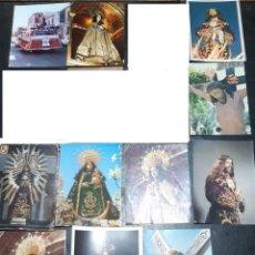 Postales: POSTALES ANTIGUAS DE VALDEPEÑAS CIUDAD REAL LOTE DE 10 UDS. VIRGEN DE CONSOLACION - NTR. PADRE JESUS. Lote 199936823