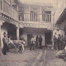 Postales: TOLEDO CASA DE CERVANTES. ED. CASTAÑEIRA Y ALVAREZ Nº 404. SIN CIRCULAR. Lote 206161737