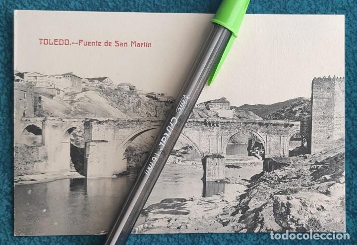 POSTAL TOLEDO. PUENTE DE SAN MARTÍN (Postales - España - Castilla La Mancha Antigua (hasta 1939))