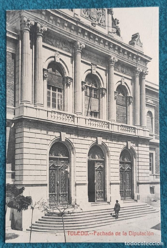 POSTAL TOLEDO. FACHADA DE LA DIPUTACIÓN (Postales - España - Castilla La Mancha Antigua (hasta 1939))