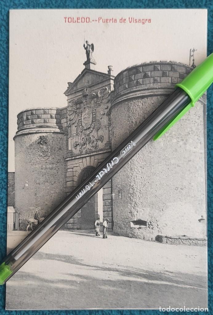 POSTAL TOLEDO. PUERTA DE VISAGRA (Postales - España - Castilla La Mancha Antigua (hasta 1939))