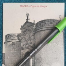Postales: POSTAL TOLEDO. PUERTA DE VISAGRA. Lote 206210518