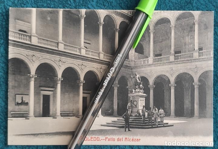 POSTAL TOLEDO. PATIO DEL ALCÁZAR (Postales - España - Castilla La Mancha Antigua (hasta 1939))