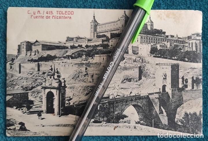 POSTAL TOLEDO. PUENTE DE ALCÁNTARA (Postales - España - Castilla La Mancha Antigua (hasta 1939))