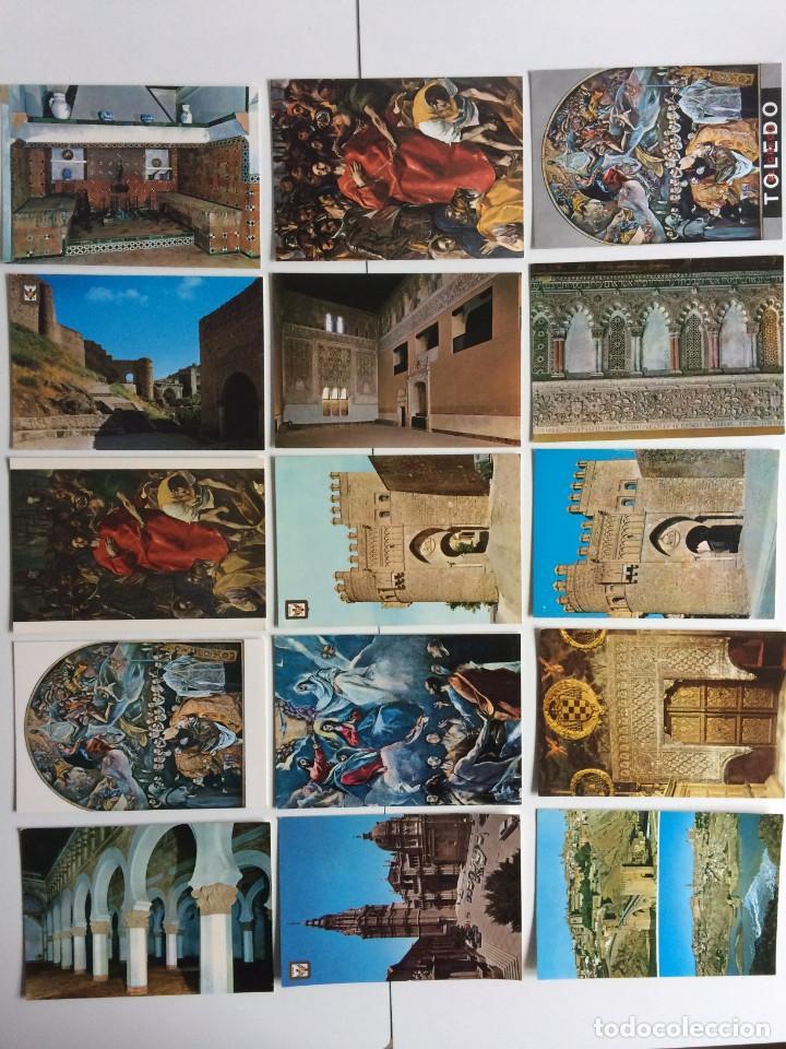 15 POSTALES TOLEDO (Postales - España - Castilla la Mancha Moderna (desde 1940))