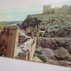 Postales: TOLEDO PUENTE DE ALCÁNTARA Y CASTILLO DE SAN SERVANDO A 108 ED IBERIA. Lote 206486332