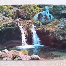 Postales: TARJETA POSTAL - ALBACETE - LOS CHORROS - RIOPAR - LAGO DE LAS HADAS № 6. Lote 206883678